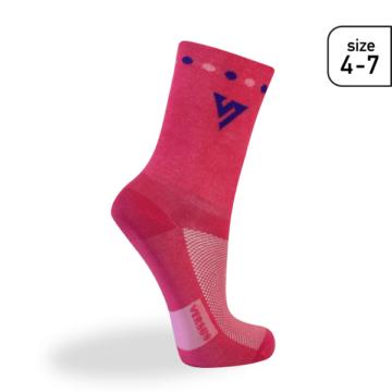 Versus socks pink - den optimala cykelstrumpan för tjejer