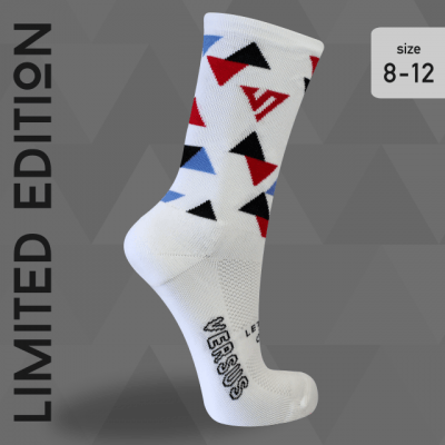 Versus socks limited edition triangle white